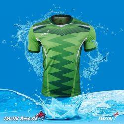 Áo Bóng Đá Khong Logo Shark Xanh Lá