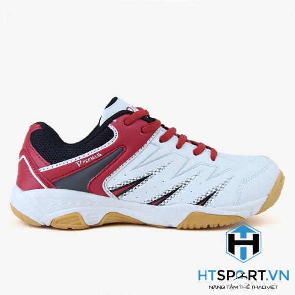 Giày Cầu Lông Promax 17009 Trắng Đỏ