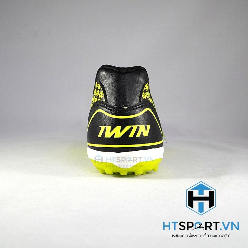 giày Iwin SuperStar TF - Đen dạ quang