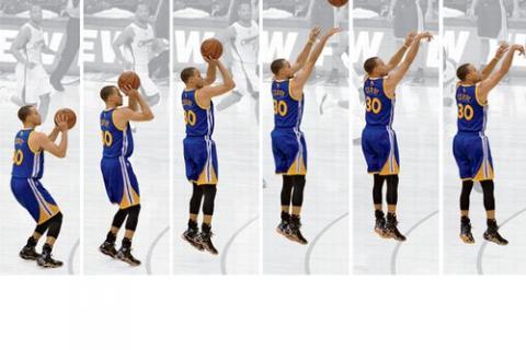 Các bước ném bóng rổ cần thực hiện