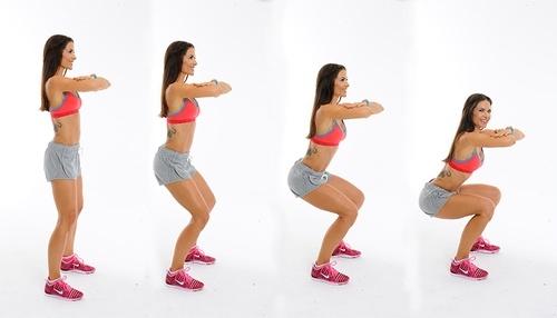 Các thao tác squat chuẩn