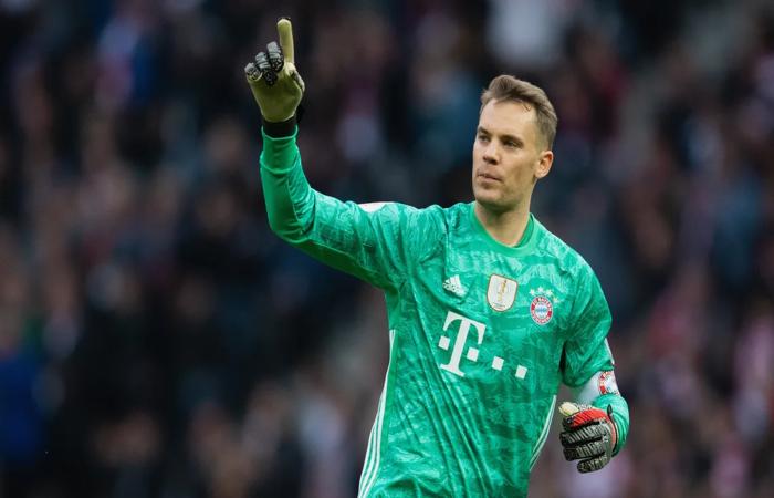 5 Manuel Neuer