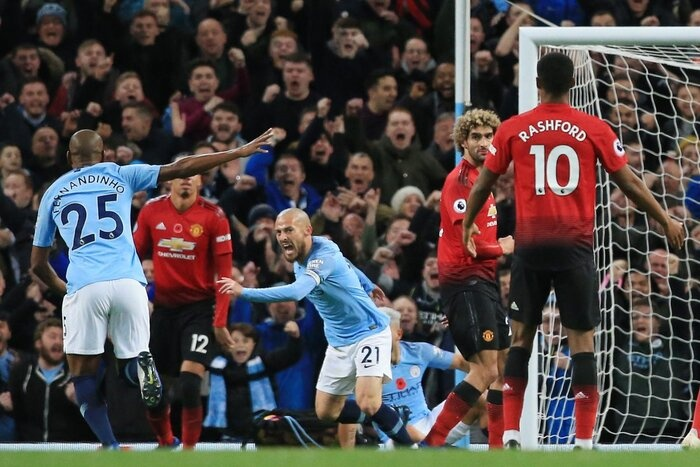 Manchester City Gặp Manchester United