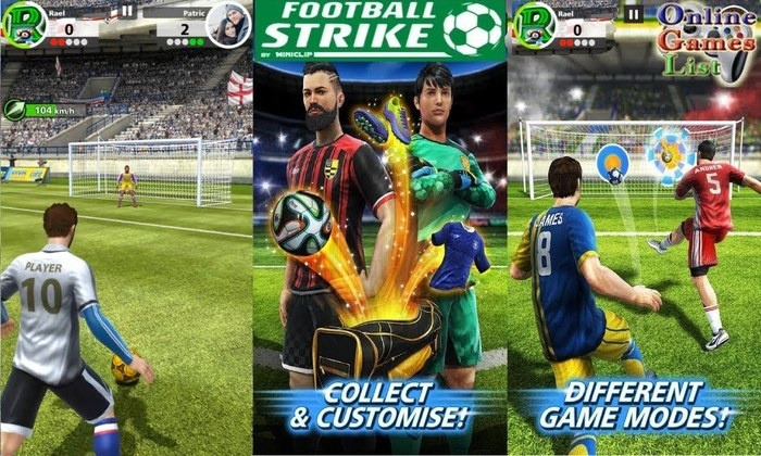 10 Football Strike