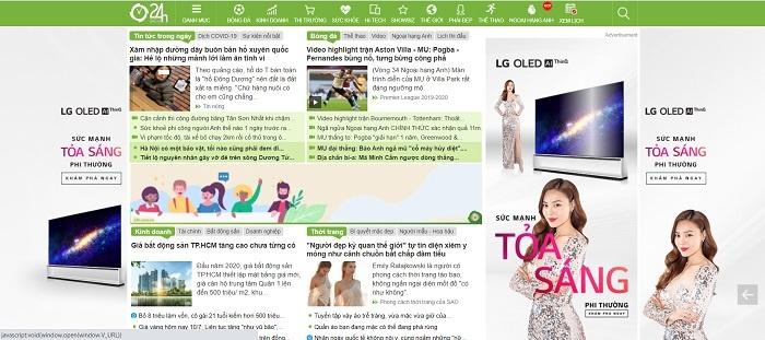 8 Trang Website Xem Nhanh Tin Bong Da