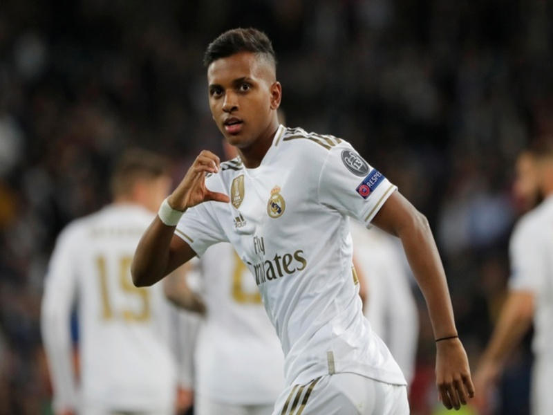 Cau Thu Tre Tuoi Rodrygo Duoc Coi La Tuong Lai Cua Real Madrid 1