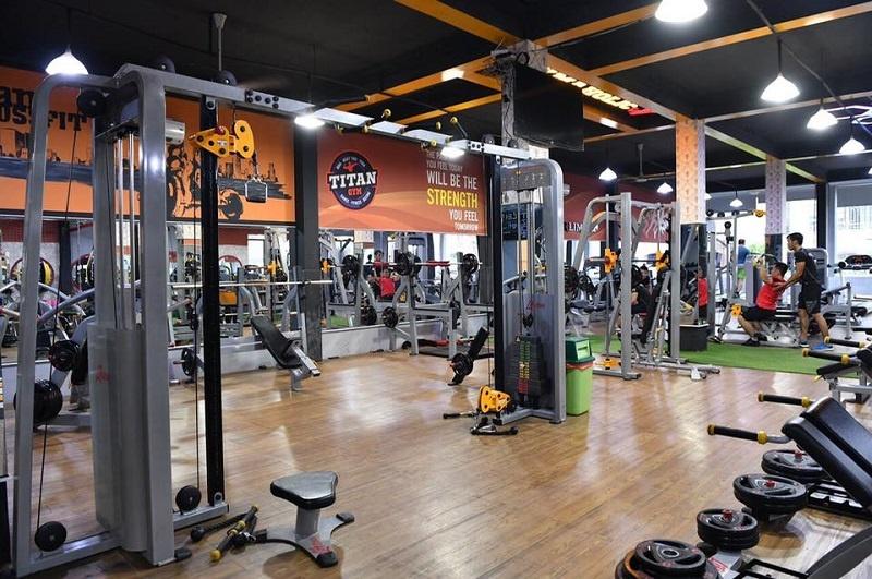 Phòng tập TiTan Fitness Center