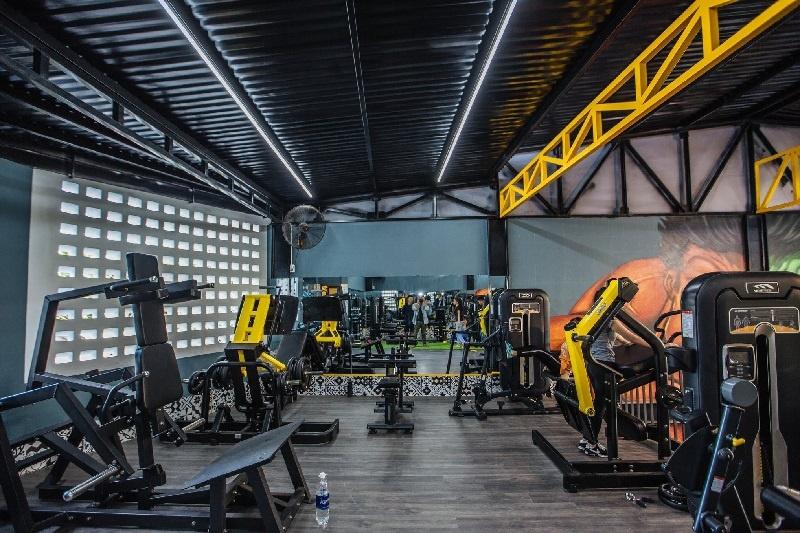 Phòng tập Gym sở hữu máy móc hiện đại, đa dạng và hoạt động tốt