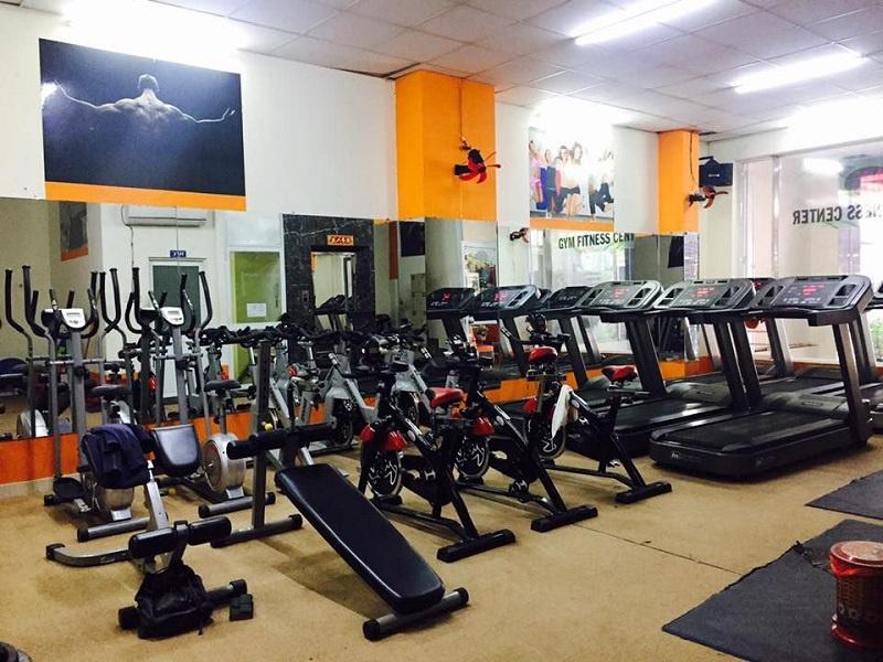 Review phòng tập Phú Khang Gym sạch sẽ