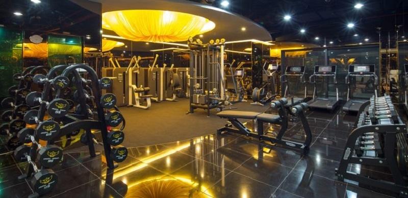 Phòng tập gym Dũng Minh với phong cách sang trọng