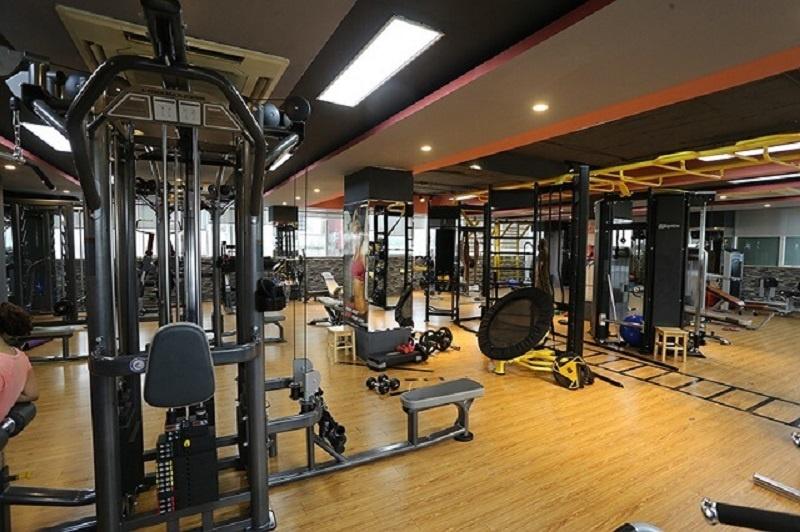 Review phòng tập Fitness Centers với trang thiết bị hiện đại