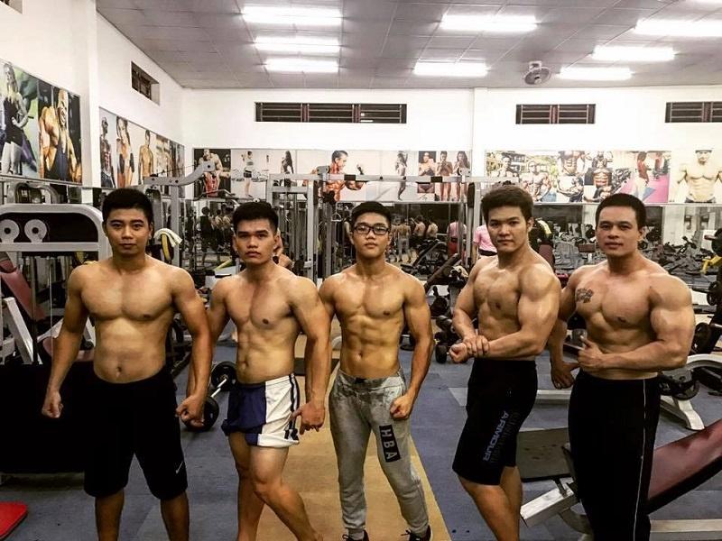danh sách phòng gym Tân Phú