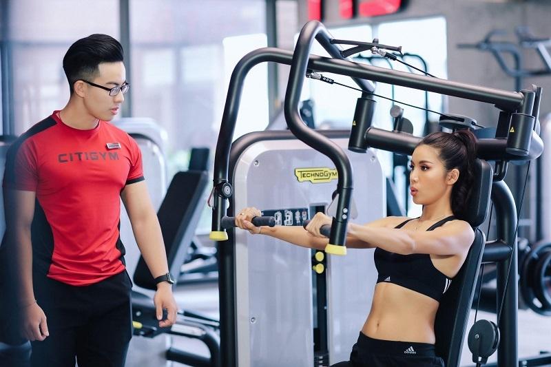 Review Gym Quỳnh Anh siêu đẹp