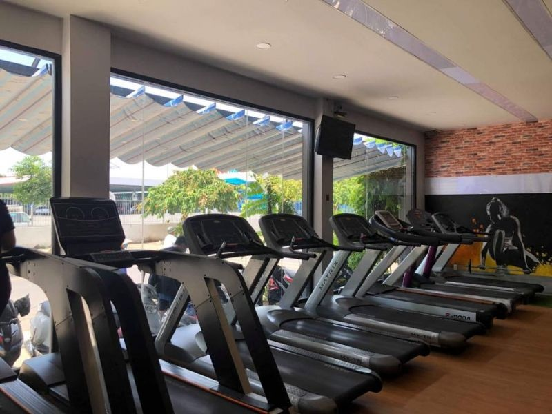 Review phòng gym Minh Huy