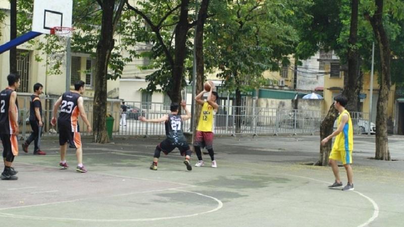 Bộ môn bóng rổ ở trường học ngày càng được coi trọng