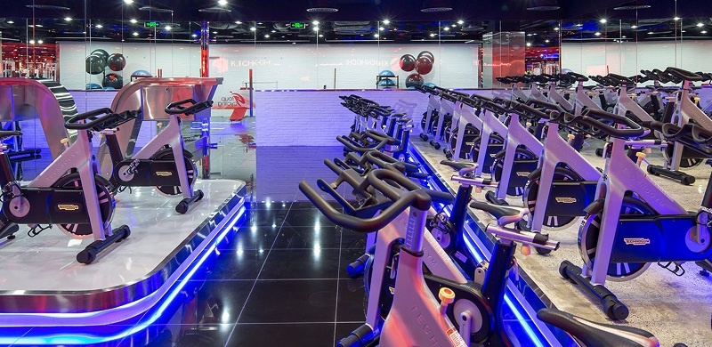 Thiết kế của Gym California luôn mang sự hiện đại