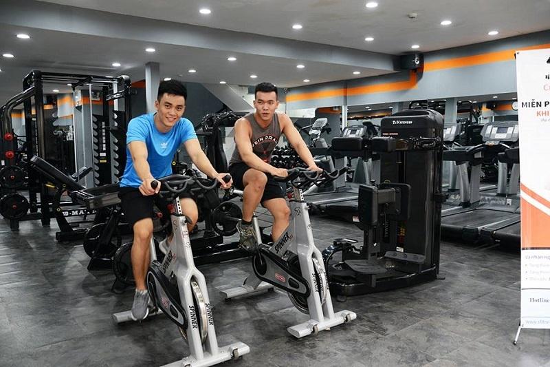 Gym S Fitness- nằm trong danh sách phòng gym gợi ý tại Quận 5