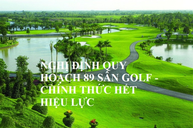 quy hoạch 89 sân golf