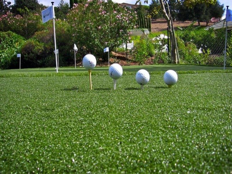 thi công cỏ nhân tạo sân golf
