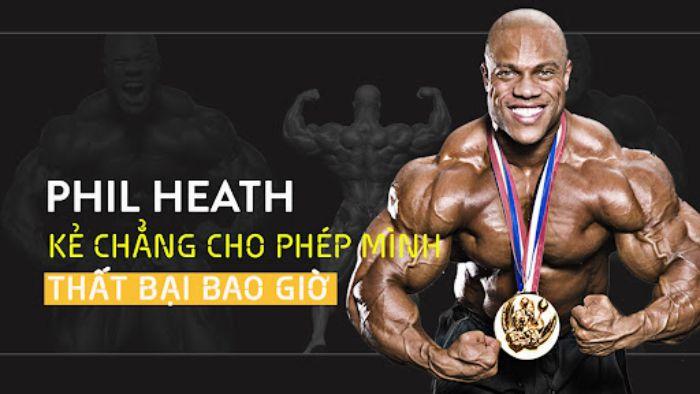 Phil Heath dành 7 giải Mr Olympia ( Giải vô địch thể hình thế giới)
