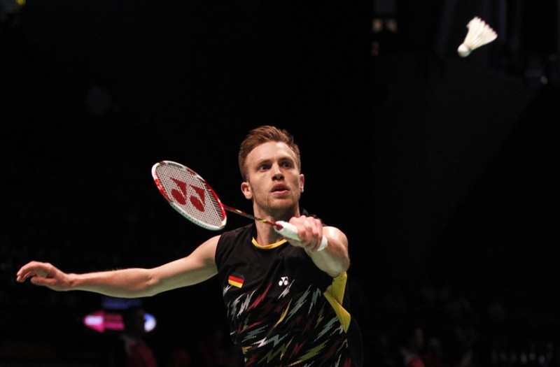 Marc Zwiebler nhận được huy chương vàng giải Vô địch châu Âu 2012